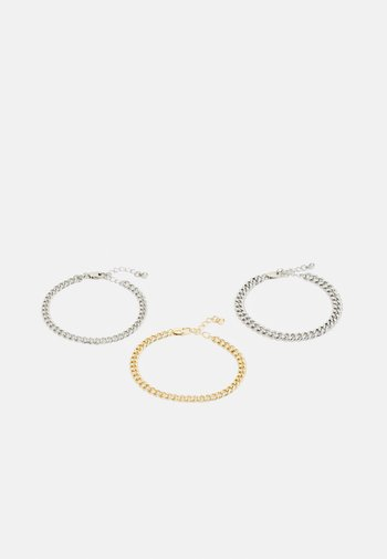 PCNAIBE BRACELET 3 PACK - Bracelet - gold-coloured/silver-coloured