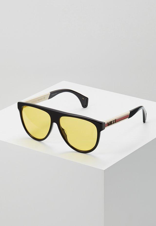 Solbriller - black/white/yellow