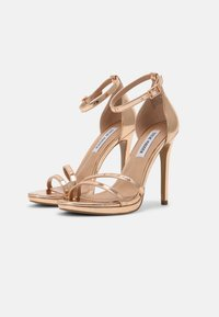 Steve Madden - BRYDGET - Platform sandals - rose gold - 2