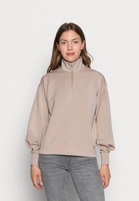 InWear - DALTON BLOUSE - Long sleeved top - simply taupe - 0