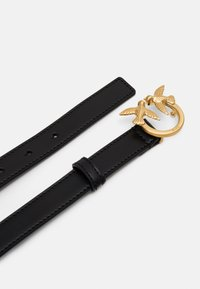Pinko - BERRY SMALL SIMPLY BELT - Riem - black - 2