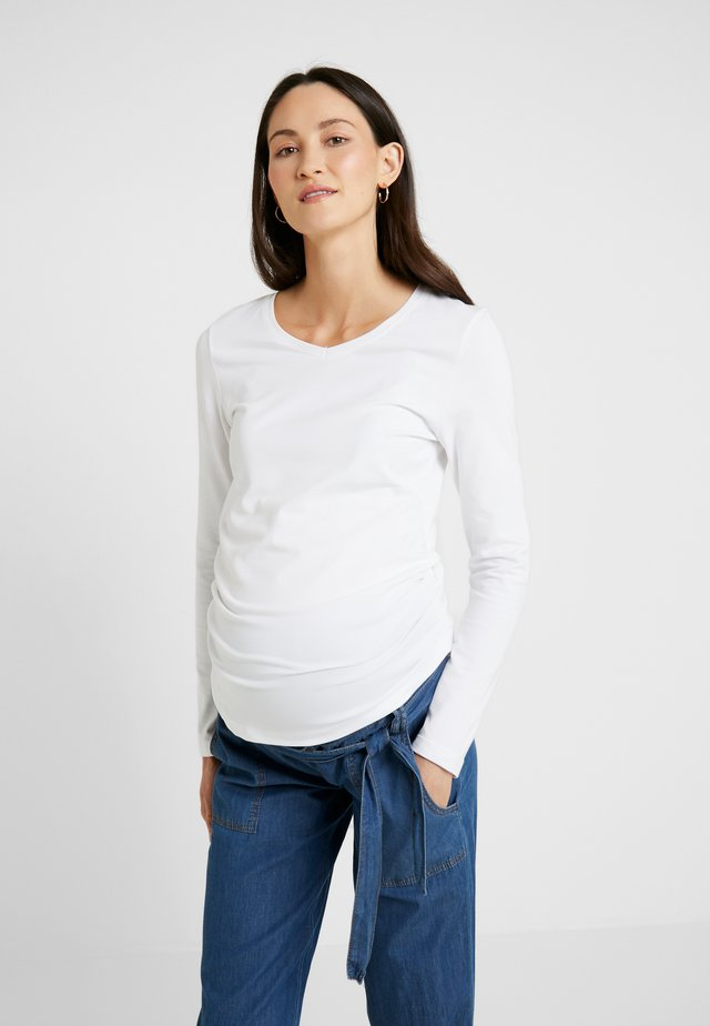 LAURE - Longsleeve - bright white