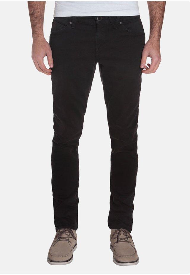 2X4 DENIM - Jeans slim fit - black