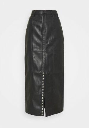 EVE SKIRT - Maxi skirt - black
