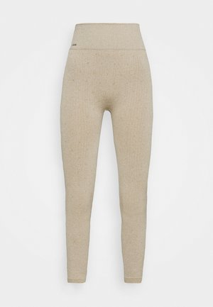 LOUNGE PANTS - Pyjamabroek - sand
