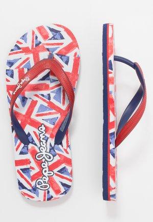 DORSET BEACH UNI - T-bar sandals - red