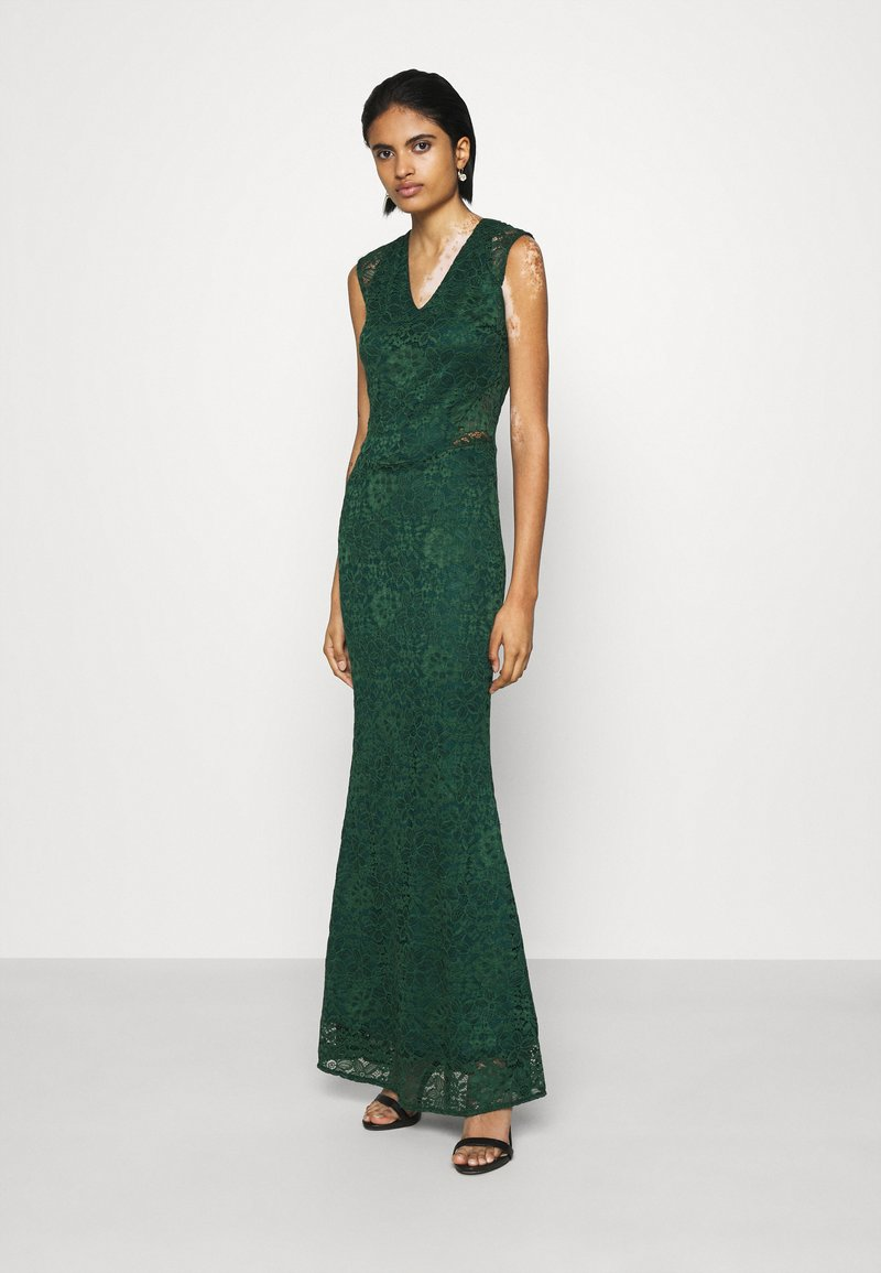 WAL G. - EMERY DRESS - Cocktail dress / Party dress - forest green