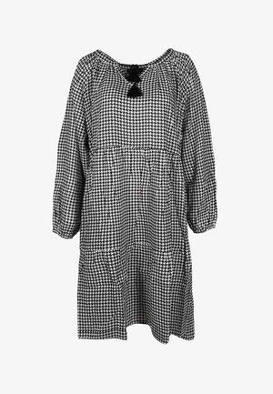 AVA - Day dress - schwarz/weiß