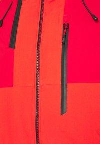 CMP - MAN JACKET FIX HOOD - Ski jacket - tango - 8