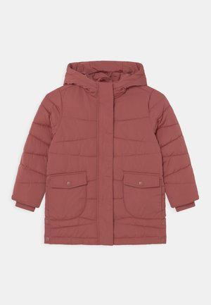 PUFFER KID - Winter coat - dark terracotta