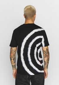 Diesel - JUST - Print T-shirt - black/white - 2