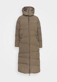 Cream - GAIAGROCR LONG JACKET - Winter coat - khaki - 0