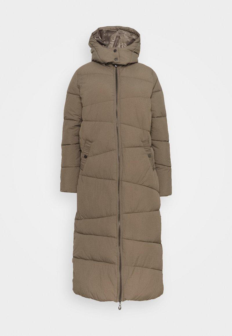 Cream - GAIAGROCR LONG JACKET - Winter coat - khaki