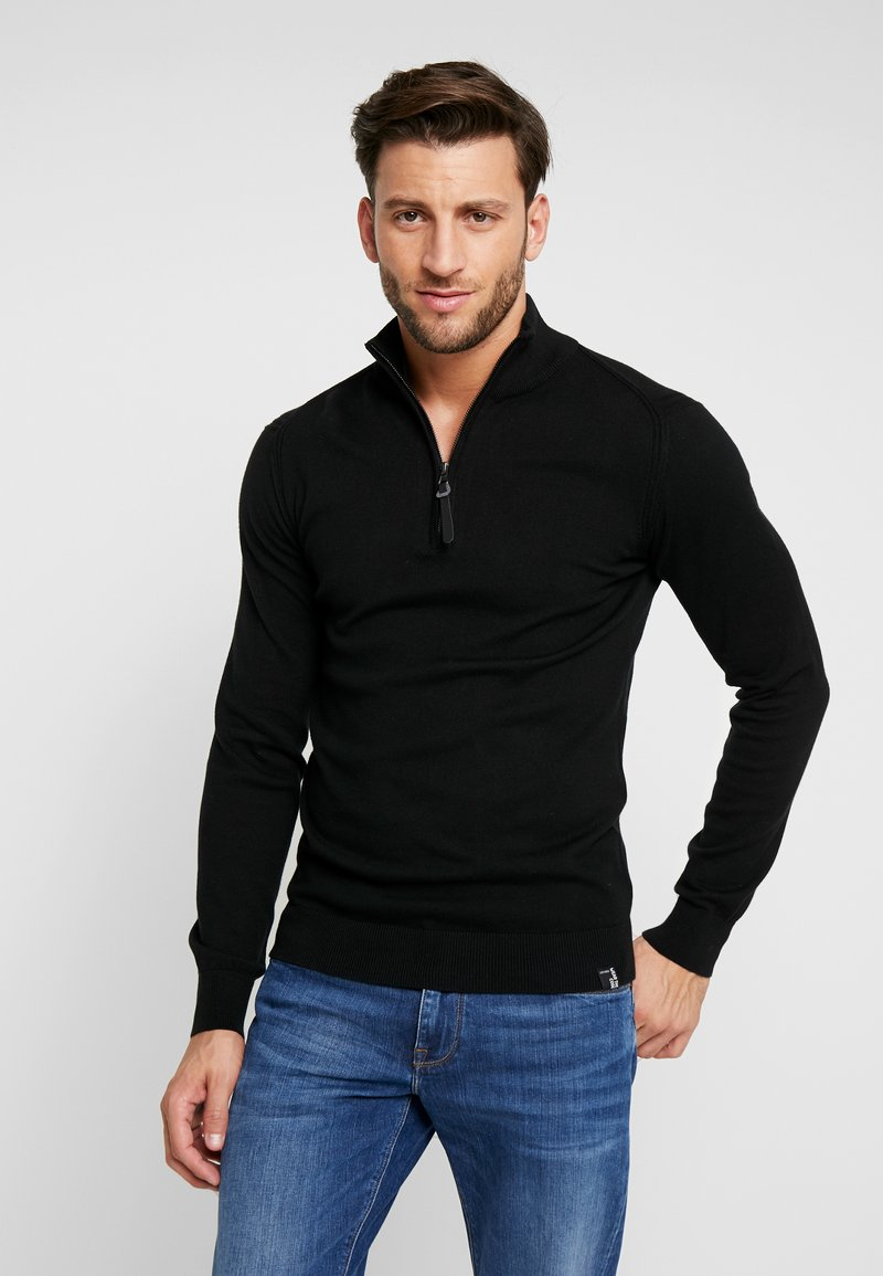 INDICODE JEANS - ANACONA - Pullover - black