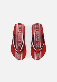 Tommy Hilfiger - UNISEX - T-bar sandals - red/multicolor - 3