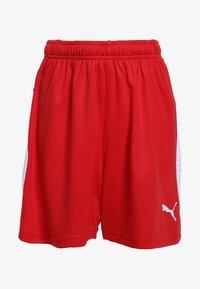 Puma - LIGA - Sports shorts - puma red/puma white - 0