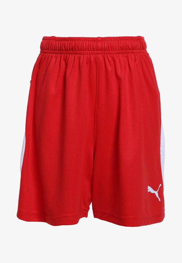 Puma - LIGA - Sports shorts - puma red/puma white