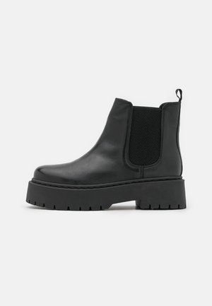 WIDE FIT BIADEB CHELSEA  - Platform ankle boots - black