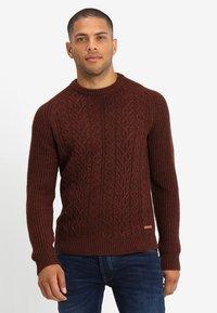 Pier One - Pullover - mottled brown - 0