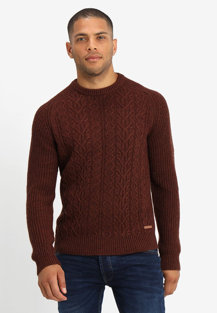 Pier One - Pullover - mottled brown