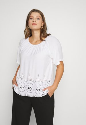 VAMELIA BLOUSE - Pusero - bright white
