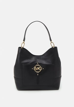 AMY HOBO - Handbag - black