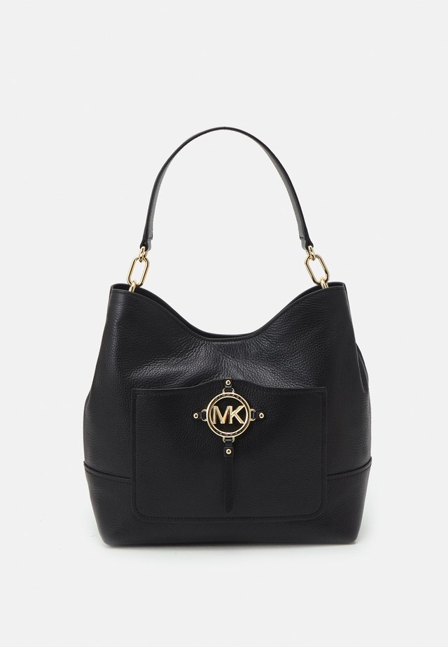 AMY HOBO - Handbag - black