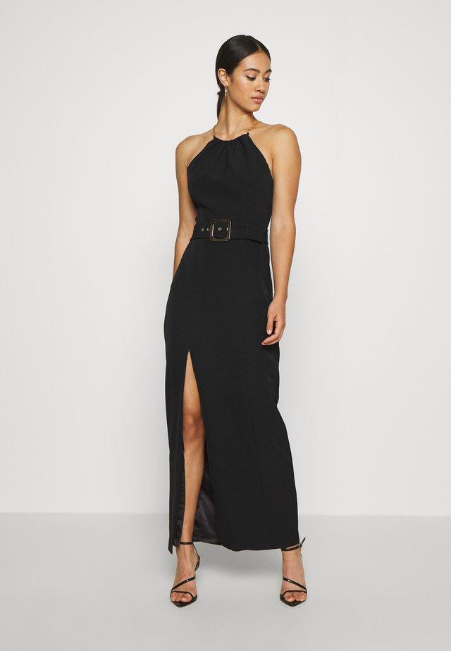 BELTED  - Vestido de fiesta - black