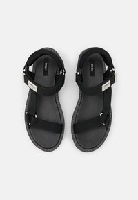 ONLY SHOES - ONLMALU CHUNKY WRAP  - Sandály - black - 5