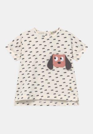 DAVID UNISEX - T-shirt print - white