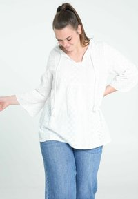 Paprika - BRODERIE ANGLAISE - Blouse - white - 0
