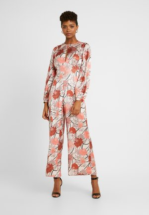 KEYHOLE FRONT - Overall / Jumpsuit - light pink