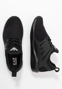 EA7 Emporio Armani - Sneakers - triple black - 1
