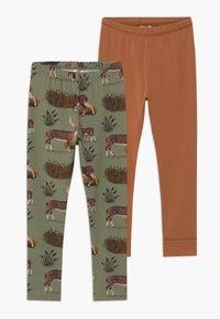 Walkiddy - 2 PACK - Leggings - Trousers - green - 0