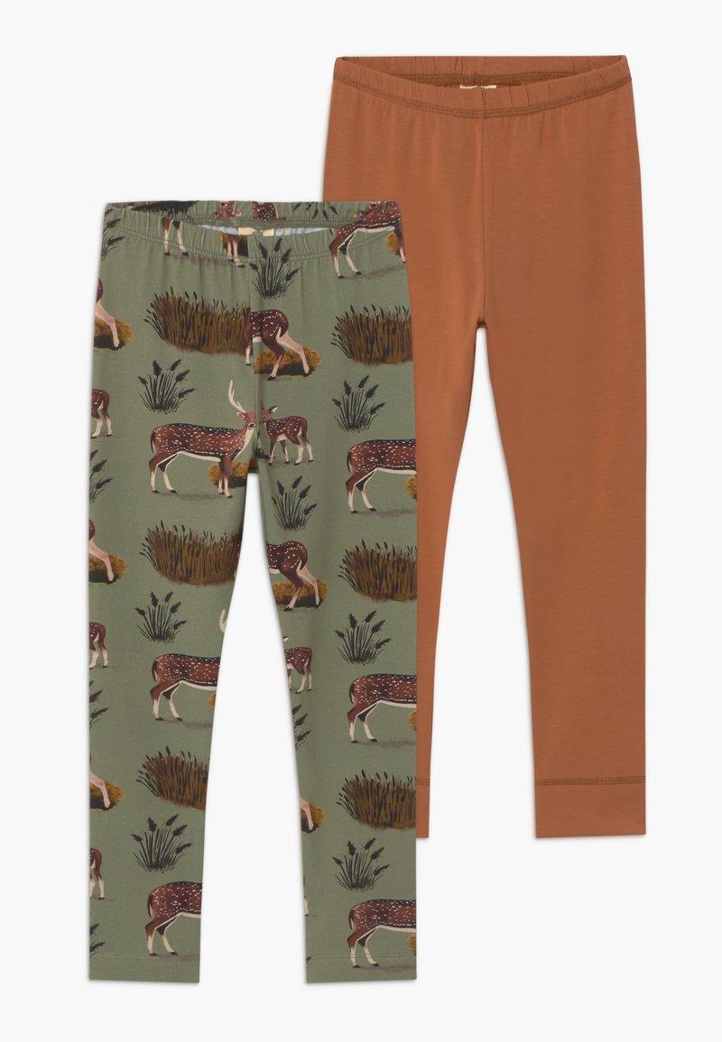 Walkiddy - 2 PACK - Leggings - Trousers - green
