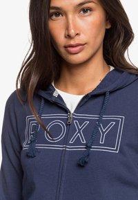 Roxy - COSMIC NIGHTS - Zip-up sweatshirt - mood indigo - 4
