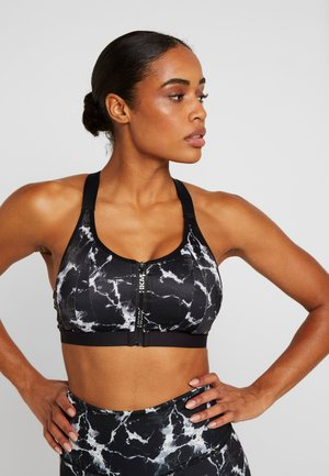 THE PRO MARBLE  - Reggiseno sportivo - black