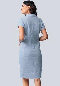 Alba Moda - Shirt dress - hellblau weiß - 2
