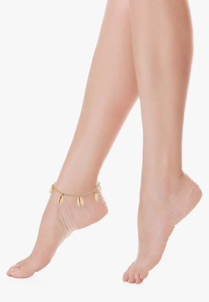 FUSSSCHMUCK KAURI MUSCHELN  - Bracelet - gold-coloured