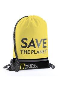 National Geographic - Drawstring sports bag - gelb - 2