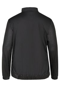 Active by Zizzi - WITH PATTERN MADE UP OF SIMILAR COLORS - Verryttelytakki - black - 6