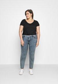 Zizzi - AMY SHAPE - Jeans Skinny Fit - stone washed - 1