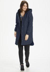 Kaffe - KASALLE - Winter coat - midnight marine - 1
