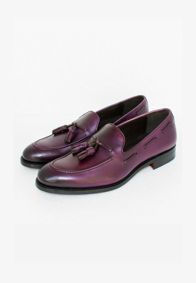 Business loafers - violet
