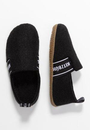 T-MODELL UNISEX - Domácí obuv - schwarz