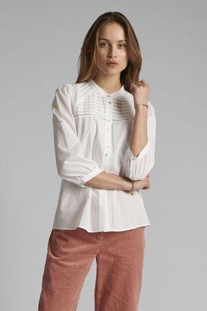 NUCINDAY - Overhemdblouse - bright white