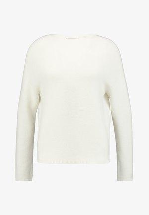 MOCK NECK - Jumper - pearl white