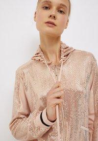 Liu Jo Jeans - Zip-up sweatshirt - peach - 3