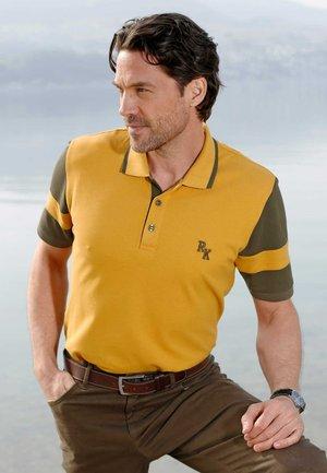 Polo shirt - ockergelb oliv