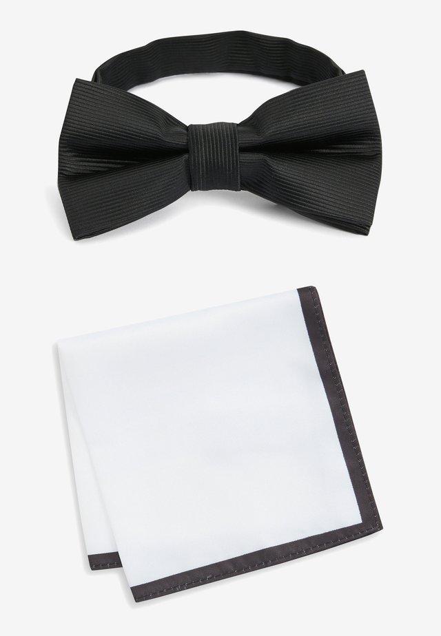 Lommetørklæde - black